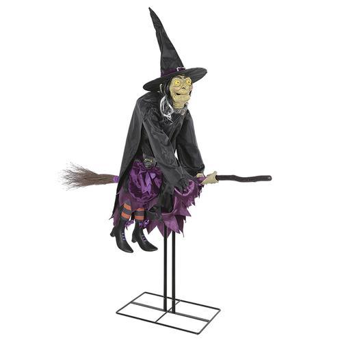 Mernards Halloween 2020 Pumpkin Hollow™ Animated Flying Witch at Menards®