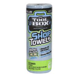 ToolBox® Blue Shop Towels - 1 Roll
