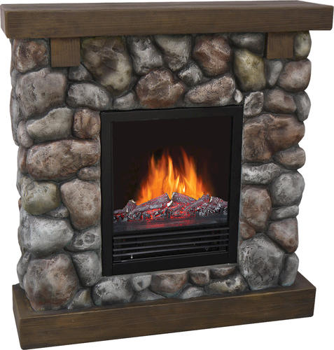 - Decorflame Rustic Rock Electric Fireplace At Menards®