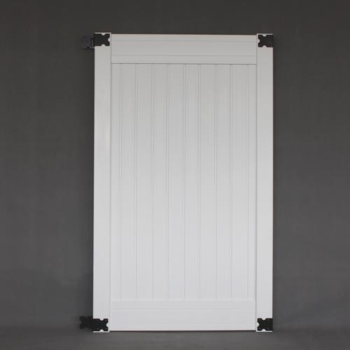 Richmond White Vinyl Gate Kit At Menards 174