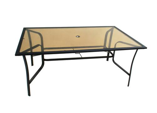 glass replacement table top for lexington dining table at menards - Replacement Glass For Patio Table
