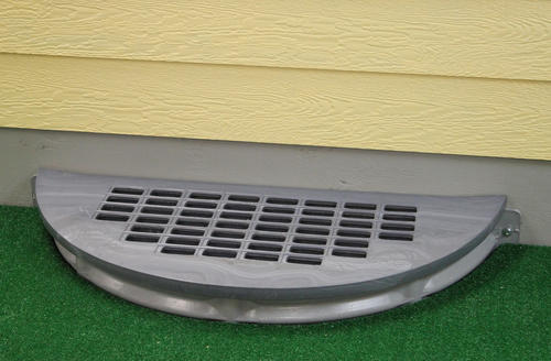 Shape Products Polyethylene Round Grate Window Well Cover At Menards
