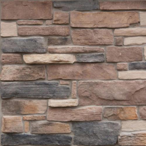 Cast Natural Manufactured Stone Veneer 10 Sq Ft At Menards