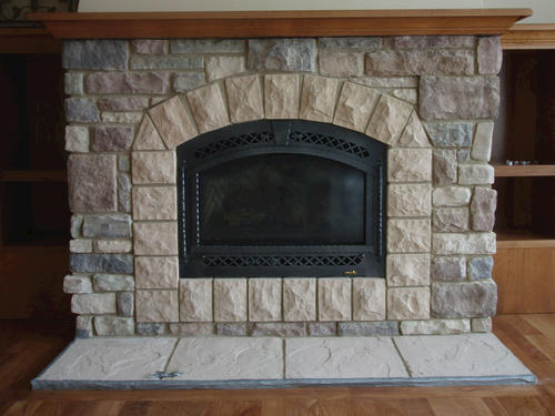cast natural manufactured stone veneer hearthstone at menards rh menards com stone hearth fireplace images hearthstone gas fireplace
