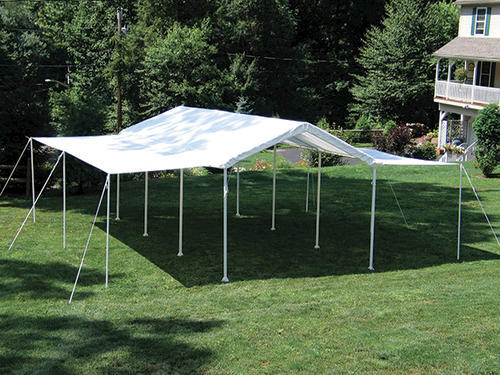 Shelterlogic Max AP 10u0027 x 20u0027 Canopy Extension/Sidewall Kit White (Fits frame styles 31757 25757 30522 23522 23571) at Menards® & Shelterlogic Max AP 10u0027 x 20u0027 Canopy Extension/Sidewall Kit White ...