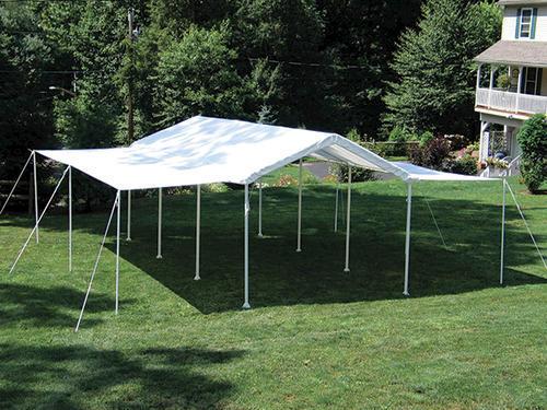 Shelterlogic Max AP 10 X 20 Canopy Extension Sidewall Kit White Fits Frame Styles 31757 25757 30522 23522 23571 At MenardsR