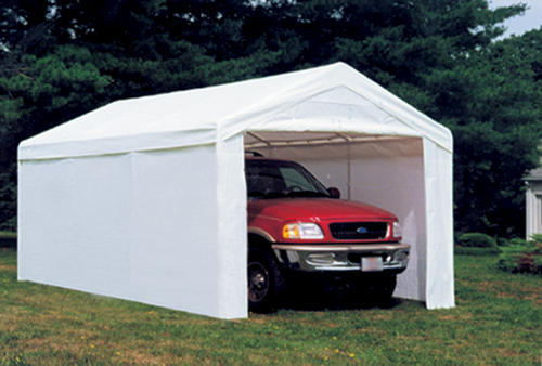 Shelterlogic Max AP 10u0027 x 20u0027 Canopy Enclosure Kit White (Fits frame styles 31757 25757 30522 23522) at Menards® & Shelterlogic Max AP 10u0027 x 20u0027 Canopy Enclosure Kit White (Fits ...