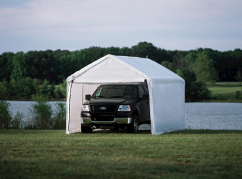 ShelterLogic® Max AP 10' x 20' Canopy 2-in-1 with Enclosure Kit, White