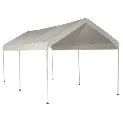 ShelterLogic® Max All-Purpose 6-Leg 10u0027 x 20u0027 Canopy  sc 1 st  Menards & ShelterLogic Max All-Purpose 10u0027 x 20u0027 Canopy 6-Leg White at Menards®
