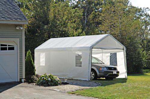 Shelterlogic Max Ap 10 X 20 Clearview Enclosure Kit At Menards