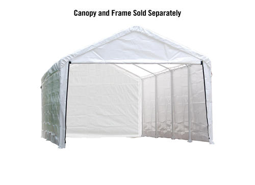 ShelterLogic® Super Max 12' X 26' White Canopy Enclosure