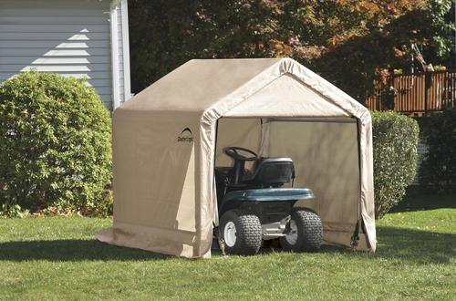 Shelterlogic Shed In A Box 6 X 6 X 6 Tan Peak Shelter At Menards