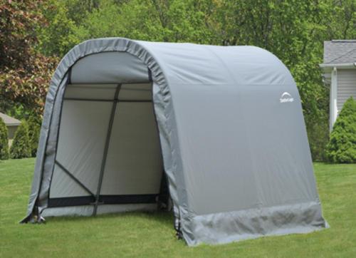 ShelterLogic® RoundTop® Instant Fabric Carport Shelter at ...