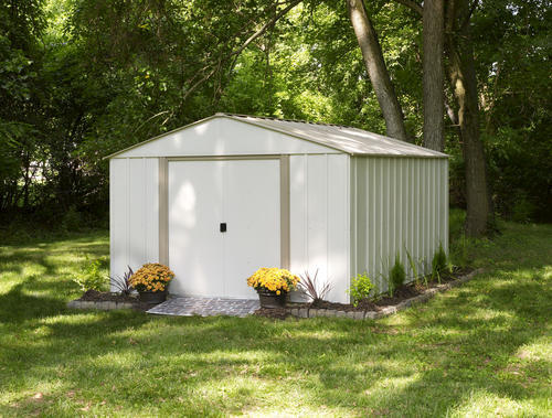 Arrow Oakbrook 10 X 14 Steel Shed At Menards