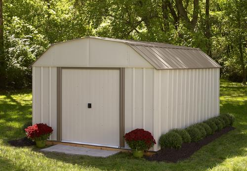 Arrow Stockbridge 10 X 14 Steel Shed At Menards