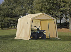 ShelterLogic Shed-in-a-Box - Peak Shelter at Menards®
