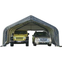 ShelterLogic® 18' x 20' x 10' Two Car Garage with Two ...