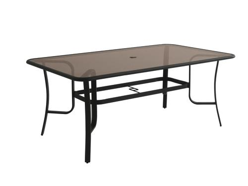 Backyard Creations Loretto Rectangular Dining Patio Table