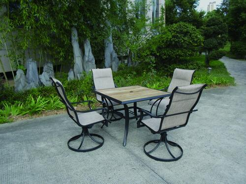 Porter Collection 5 Piece Dining Patio