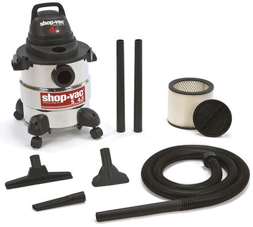 shop-vac® 5 gallon 4.5 peak hp wet/dry shop vacuum at menards®