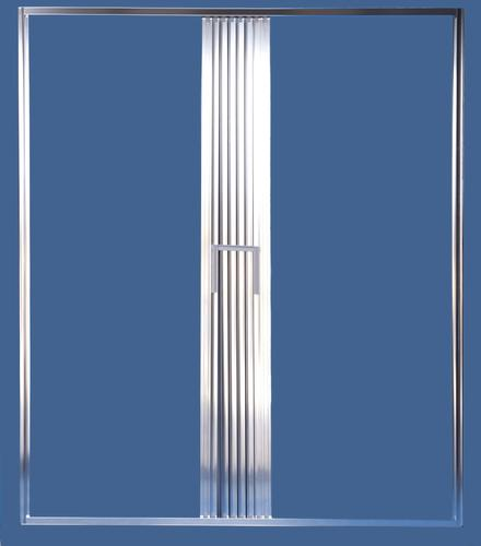 ... Shower Door Accordion Shower Doors : Shower Solutions USA Elite Style  Accordion Folding Shower Door .