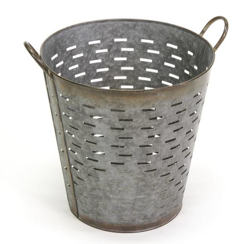 Rustic Gray Decorative Olive Basket At Menards®