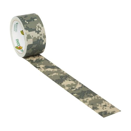 "Digital Camo Duck brand Duct Tape 1.88/"" x 10 yard Roll"