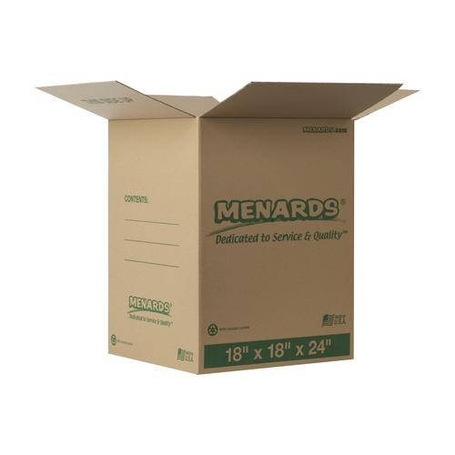 Menards 174 18 Quot X 18 Quot X 24 Quot Large Cardboard Box At Menards 174