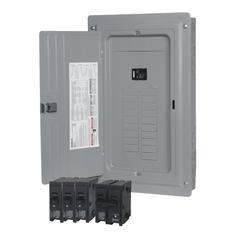 siemens 100 amp 20 space 20 circuit indoor main breaker load center value  pack