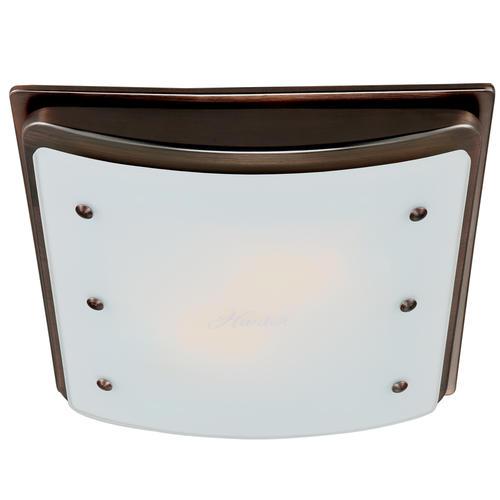 hunter® ellipse 100 cfm ceiling or wall exhaust bath fan