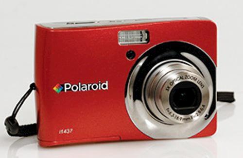 polaroid i1437 14 megapixel red digital camera at menards rh menards com