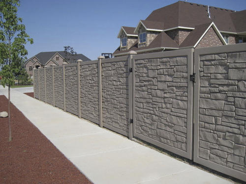 Simtek Fence 6 X 6 Ecostone Gate At Menards 174