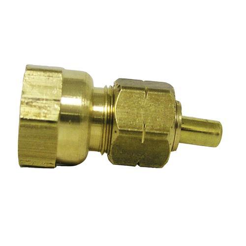 """Copper Pressure 3//4  OD x  1//2"""" F Female Adapter Fitting"""
