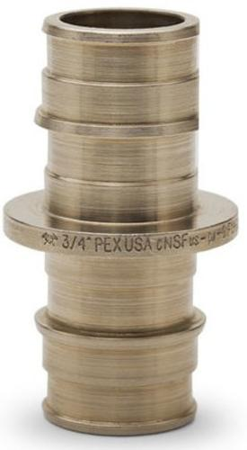 """Sioux Chief PowerPEX® 1"""" Brass PEX-A Coupling Fitting"""