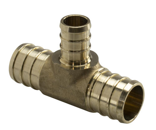 """Details about  /Pack of 2 PowerPEX 641WG222PK2 Brass PEX-A Tee Fitting 1//2/"""""""