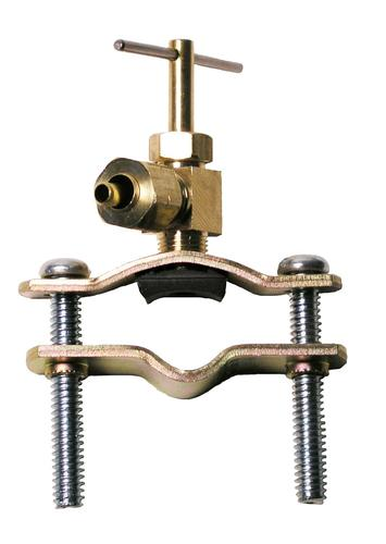 """Sioux Chief 1/4"""" Compression Brass Self-Tap Saddle Valve"""