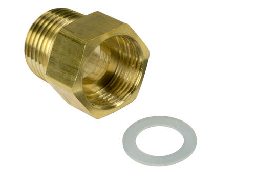 """1//2/"""" OD X 3//8/"""" MIP MALE ADAPTER BRASS COMPRESSION FITTING"""