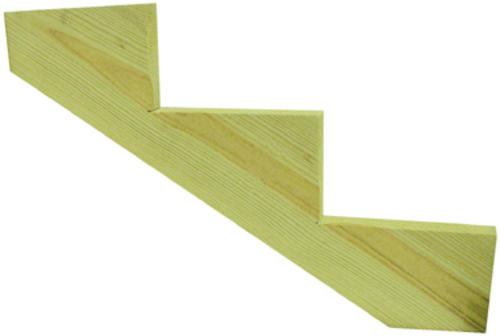 5 Step Ground Contact AC2® Green Pressure Treated Stringer At Menards®