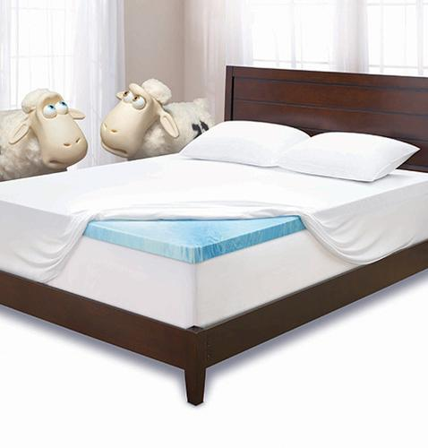 Serta 3 Gel Memory Foam Mattress Topper At Menards