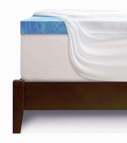 Serta 174 3 Quot Gel Memory Foam Mattress Topper At Menards 174