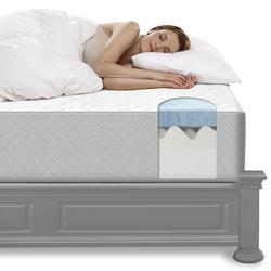 Sleep Innovations 174 14 Quot Ascela Gel Memory Foam Mattress In