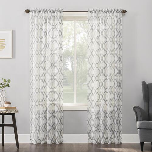 No 918 Lorimer 51 W X 84 L Light Filtering Rod Pocket Curtain Panel At Menards