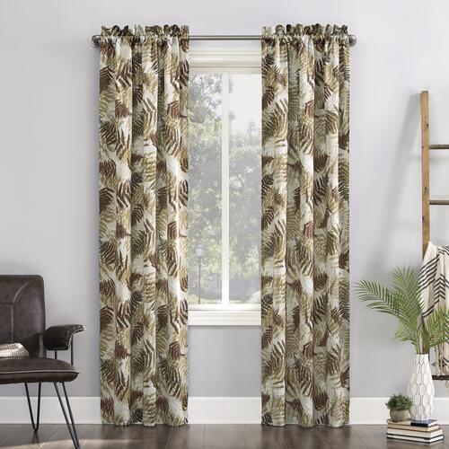 Sun Zero Briar 37 W X 63 L Room Darkening Rod Pocket Curtain Panel 2 Panels At Menards