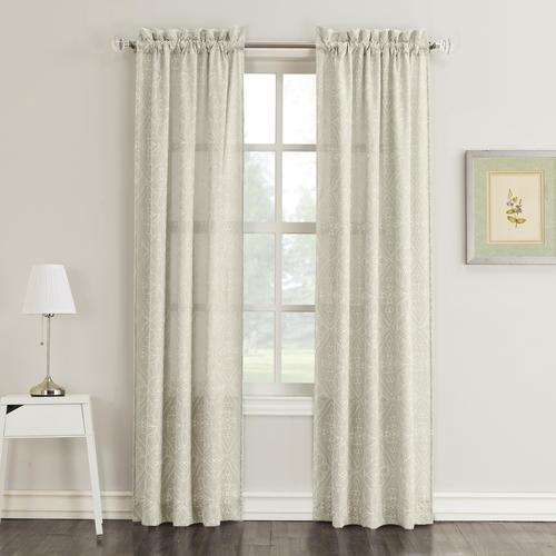 Light Filtering Rod Pocket Curtain