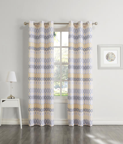 Light Filtering Grommet Top Curtain