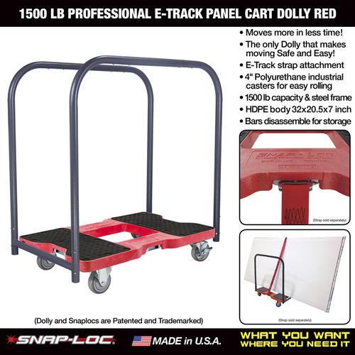 e4d1650121a6 Snap-Loc® E-Track Panel Cart Dolly at Menards®