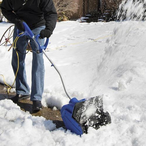 "Menards Snow Blowers >> Snow Joe® 13"" 10-Amp Corded Electric Snow Shovel at Menards®"