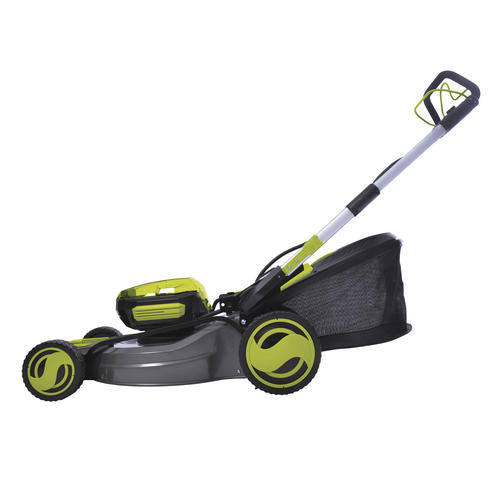 Sun Joe 174 20 Quot 100 Volt Cordless Self Propelled Lawn Mower