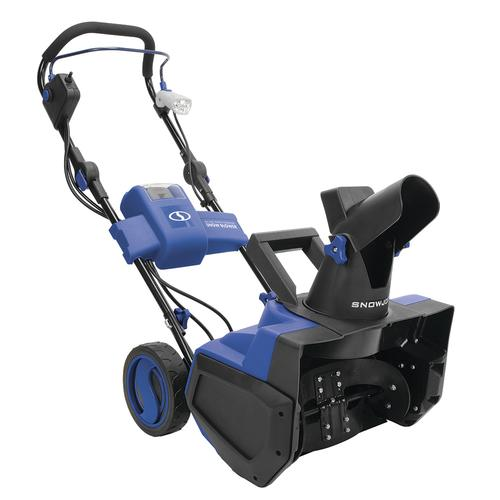Snow Joe 174 18 Quot 40 Volt Single Stage Cordless Snow Blower At