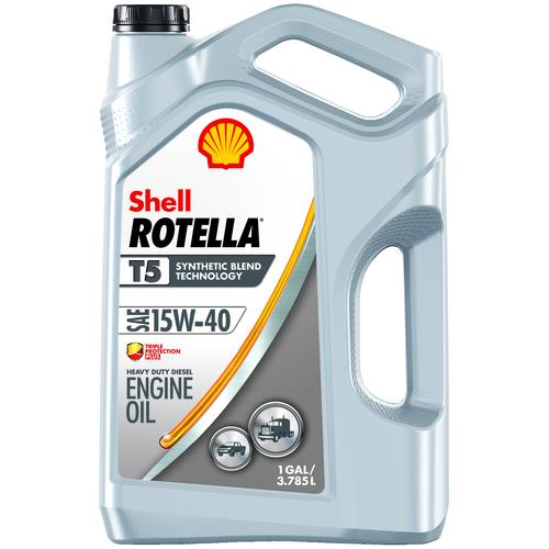 Shell Rotella® T5 Triple Protection® Plus 15W-40 Heavy Duty Motor